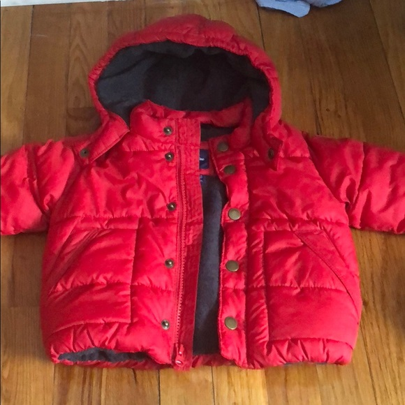 d99090aca9a70 GAP Other - Baby gap baby boys jacket red 12-18 months warm